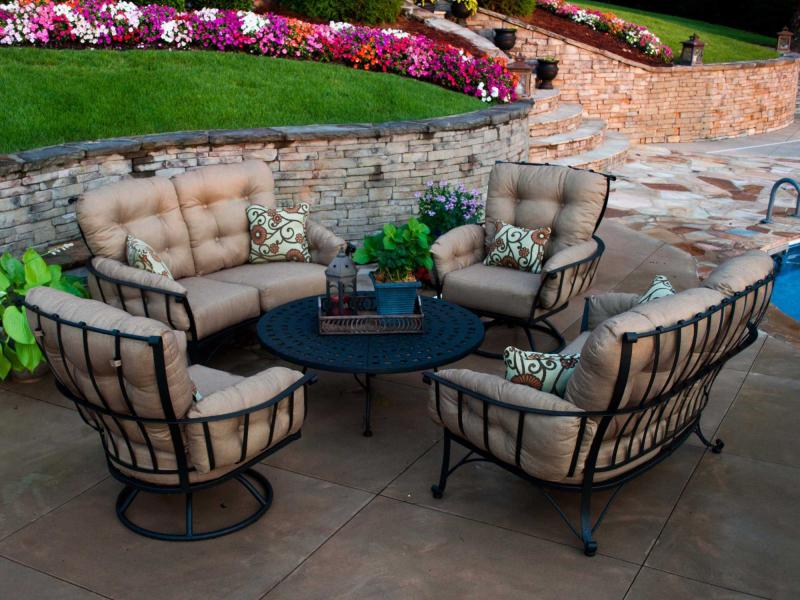 Holiday Patio Furniture Wrought Iron