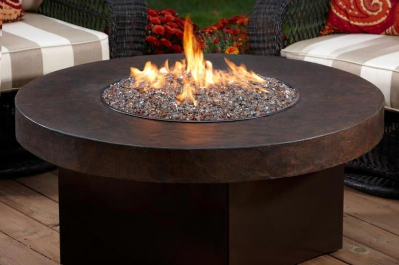 Holiday Patio Furniture Fire Tables